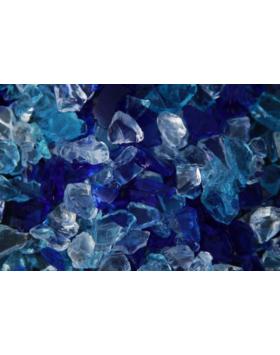 Üvegzúzalék - Vegyes kék