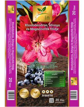 Sunin Rododendron, Áfonya és Magnóliafák földje 20 liter