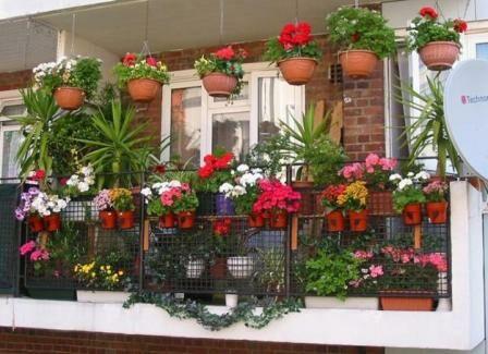 Egy színes balkon mindig vidámságot csal lakóinak életébe