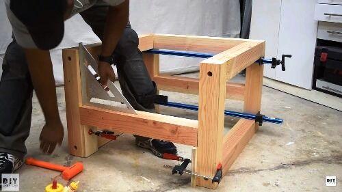 Kerti bútor készítés