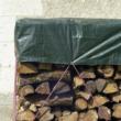 Vízhatlan, fahasábtakaró ponyva 90 g/m2 LDPE - PROTEX WOOD (zöld)