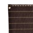Dekoratív, szőtt árnyékoló 85% - HAVANA (barna)