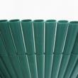 Félovális profilú műanyag nád 13mm PVC - PLASTICANE OVAL (zöld)