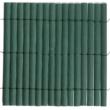 Félovális profilú műanyag nád 17mm PVC - PLASTICANE (zöld)