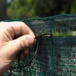Szőtt árnyékoló háló gomblyukakkal 85% - TEXANET (zöld)