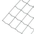 PVC bevonatos fémháló - DECOMET 100 (zöld)
