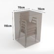 Vízálló bútortakaró szövet 90 g/m2 - COVERTOP (szék)(drapp)