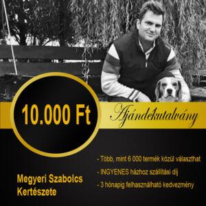10.000 Ft - Ajándékutalvány