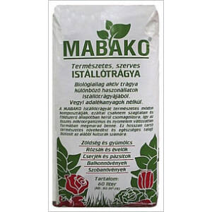 Mabako szerves istállótrágya 20 liter