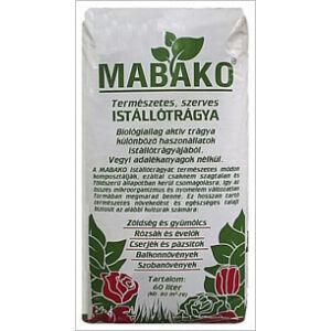 Mabako szerves istállótrágya 50 liter