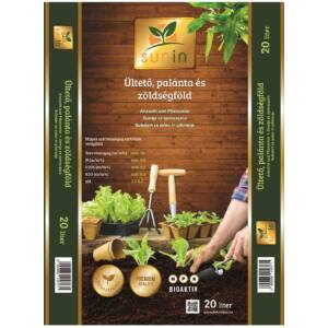 Sunin Ültető, palánta és zöldségföld 20 liter