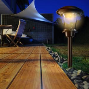 Leszúrható napelemes lámpa - ESIS (antracit)