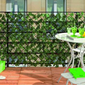 Térelválasztó műanyag levelekkel - GREENLY (zöld)