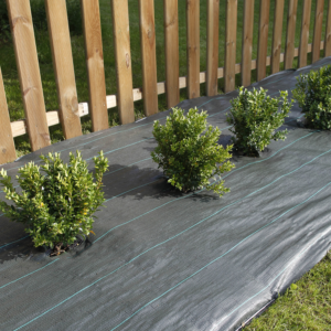 Szőtt talajtakaró agroszövet 90 g - WEEDSOL (zöld/fekete)