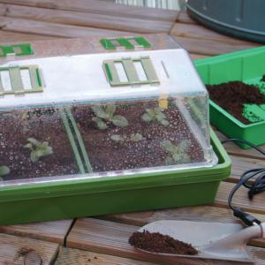 Fűthető mini üvegház - HEATING GROW