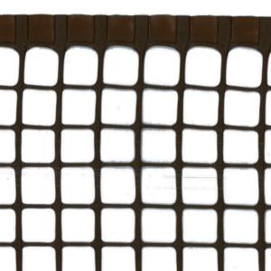 Műanyag kertirács - MAXISQUARE (barna)