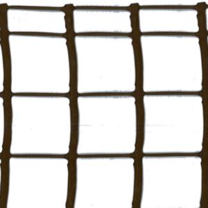 Műanyag kertirács - MEGASQUARE (barna)