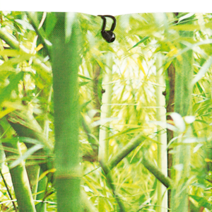 Árnyékoló festett virág díszítéssel - STYLIA (bambusz)