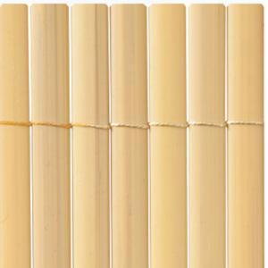 Félovális profilú műanyag nád 13mm PVC - PLASTICANE OVAL (bambusz)