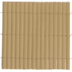 Félovális profilú műanyag nád 17mm PVC - PLASTICANE (bambusz)