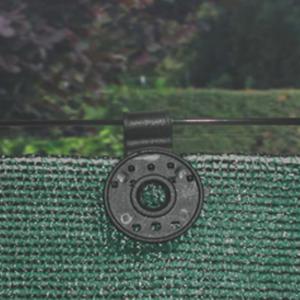 Rögzítő kapocs szőtt árnyékoló hálóhoz  - FIXATEX (fekete)
