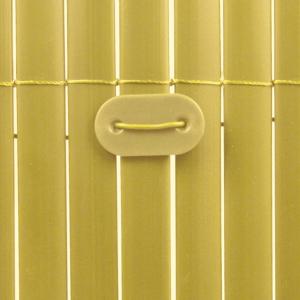 Rögzítő műanyag nádfonat rögzítéséhez - FIXCANE (bambusz)