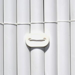 Rögzítő műanyag nádfonat rögzítéséhez - FIXCANE (fehér)