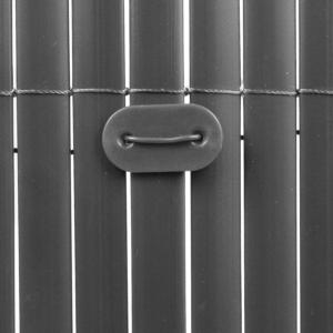 Rögzítő műanyag nádfonat rögzítéséhez - FIXCANE (szürke)