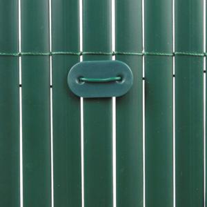 Rögzítő műanyag nádfonat rögzítéséhez - FIXCANE (zöld)