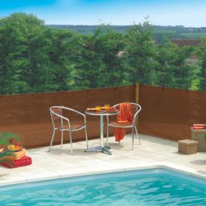 Szőtt árnyékoló háló 80% - EXTRANET (barna)