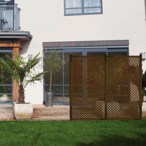 Dekoratív kültéri panel - PRIVAT (barna)