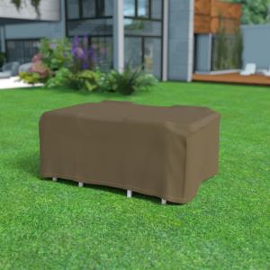 Vízálló bútortakaró szövet 90 g/m2 - COVERTOP (asztal+székek)(drapp)