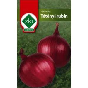 Lilahagyma 'Tétényi rubin' – Vetőmag