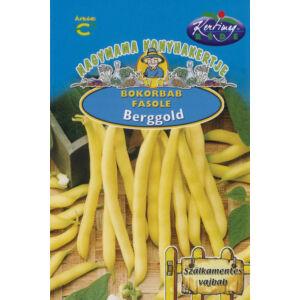 Sárgahüvelyű bokorbab 'Berggold' – Vetőmag