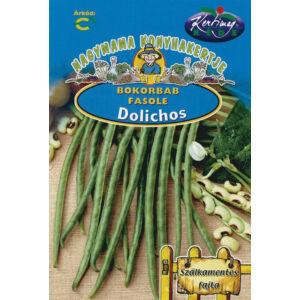 Zöldhüvelyű bokorbab 'Dolichos' – Vetőmag