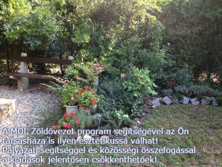 MOL Zöldövet program