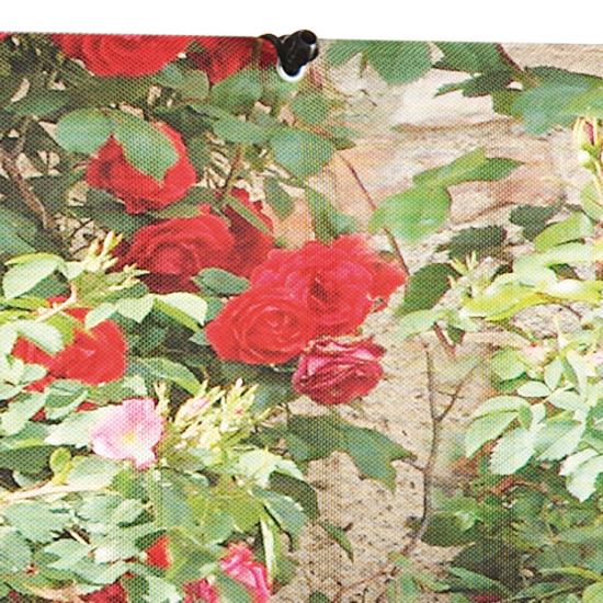 Árnyékoló festett virág díszítéssel - STYLIA (rózsa)
